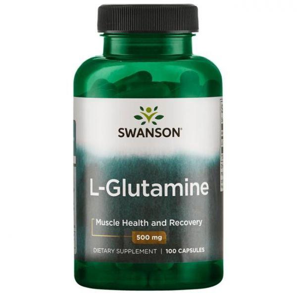 Л-Глютамин (L-Glutamine) 500 мг 100 капсул