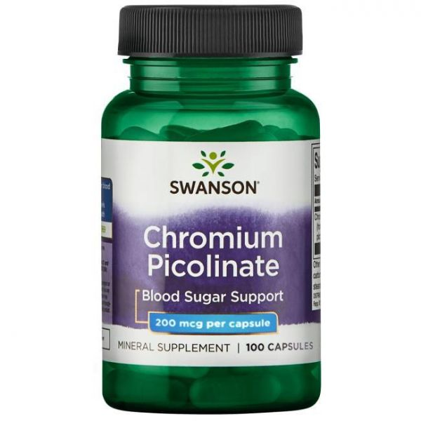 Хром пиколинат (Chromium picolinate) 200 мкг 100 капсул