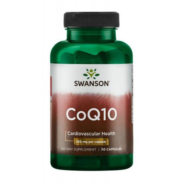 Коэнзим Q10 (Ultra CoQ10) 200 мг 30 капсул