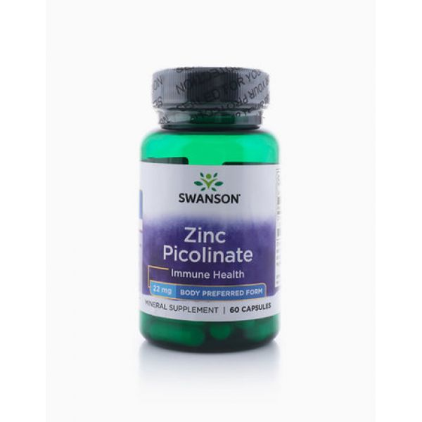 Пиколинат цинка (Zinc Picolinate) 22 мг 60 капсул