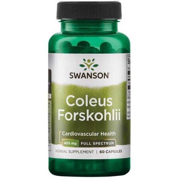 Форсколин (Coleus Forskohlii) 400 мг 60 капсул
