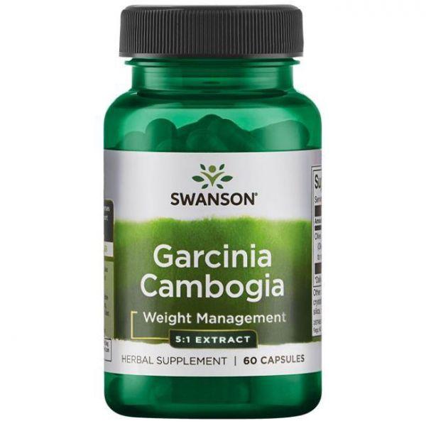 Гарциния камбоджийская (Garcinia Cambogia) 80 мг 60 капсул