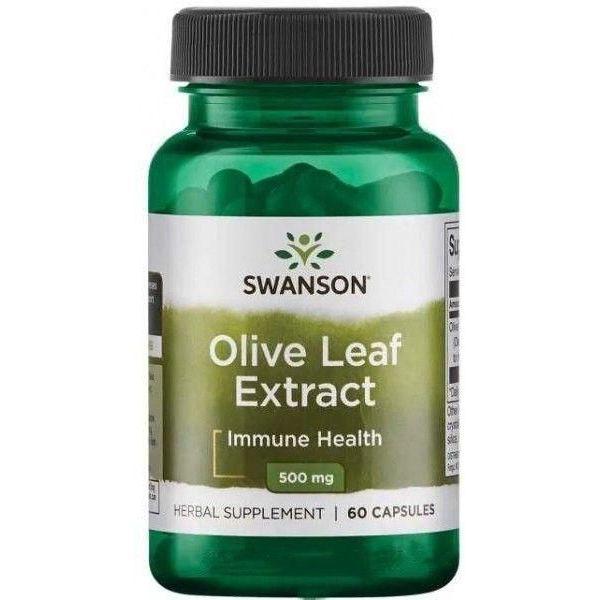 Экстракт оливковых листьев (Olive Leaf Extract) 500 мг 60 капсул