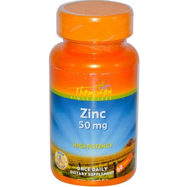 Цинк (Zinc) 50 мг 60 таблеток