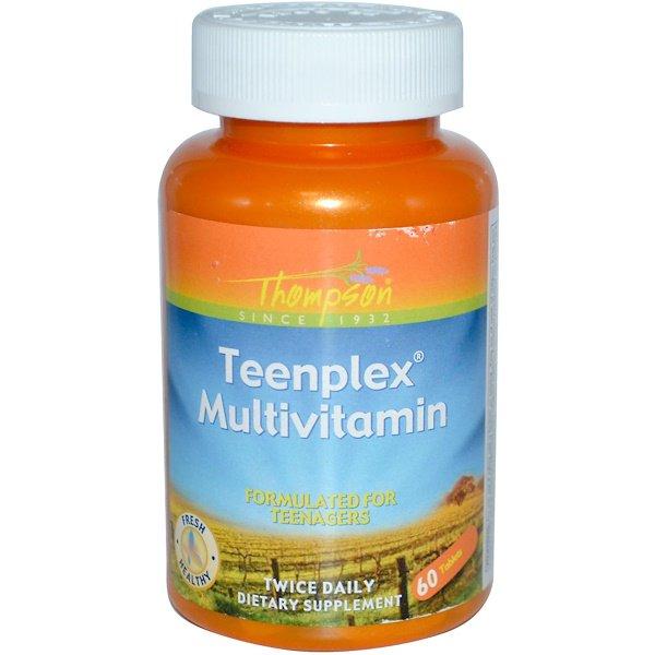 Мультивитамины для подростков (Teenplex Multivitamin) 60 таблеток