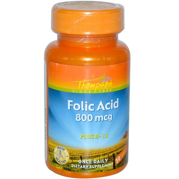 Фолиевая кислота и Витамин B12 (Folic acid with vitamin B12) 800 мкг/5 мкг 30 жевательных таблеток